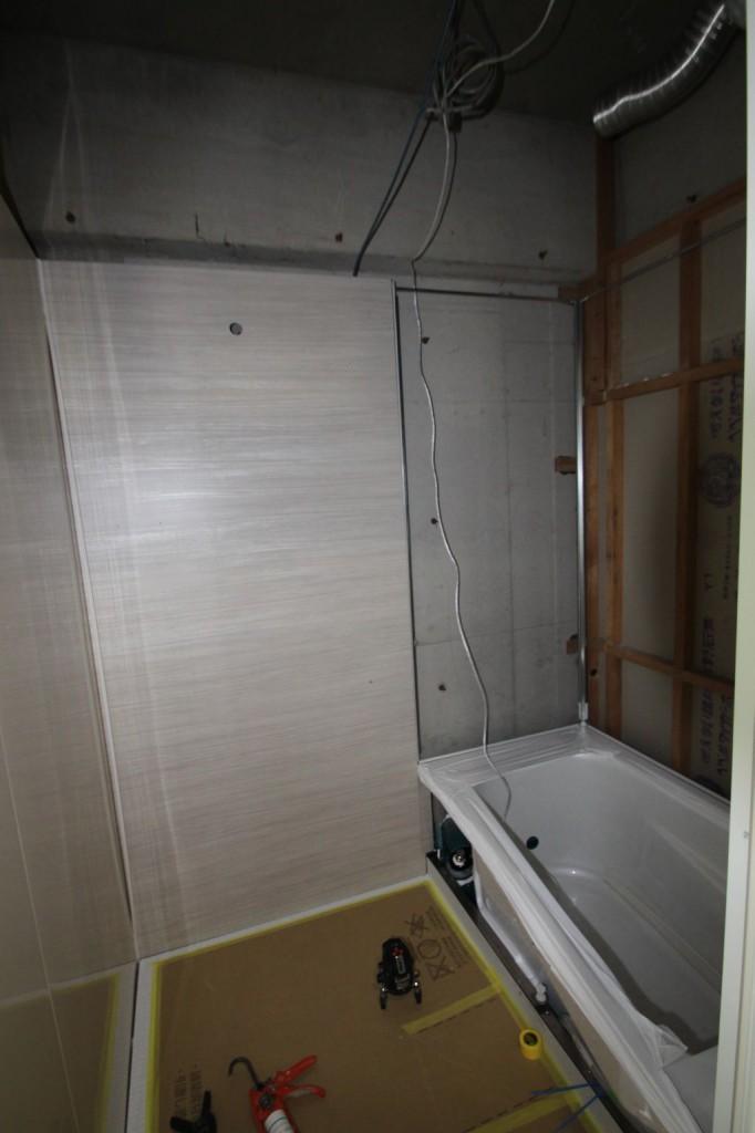 浴槽設置完了