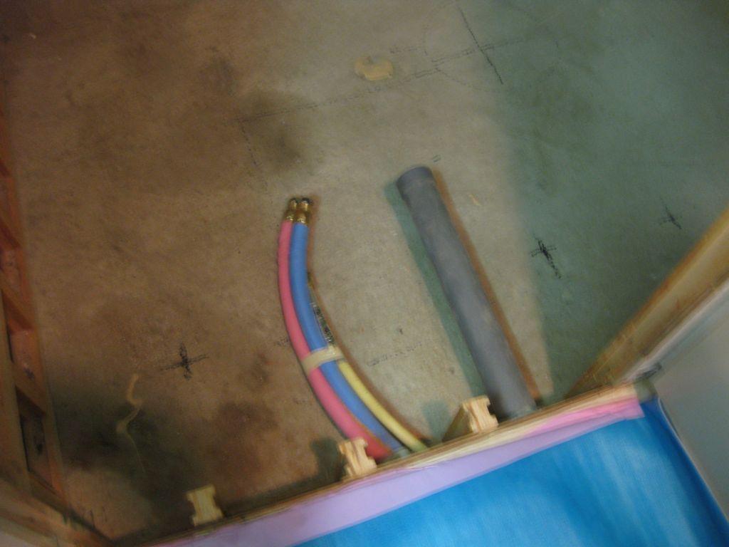 給排水の接続