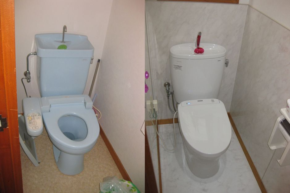 ビフォーアフター トイレ